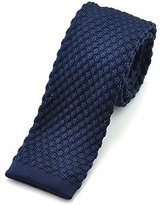 "Pense'e PenSee Casual Mens Solid Slim 2.16"" Skinny Knit Tie"