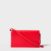 Paul Smith No.9 - Women's Red Leather Pochette