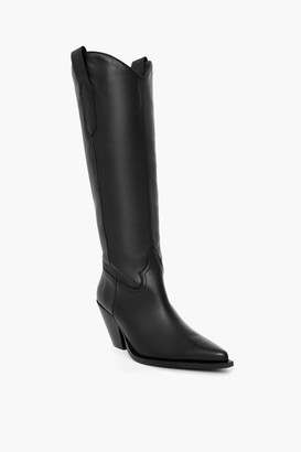 Toral Fiona Black Leather Boots