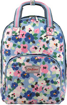 Cath Kidston Large Painted Pansies Multi Pocket Backpack