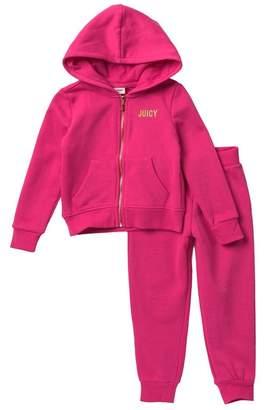 Juicy Couture Sequin Hoodie Set (Toddler Girls)