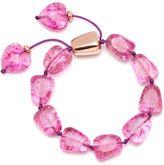 Lola Rose Regina Orchid Rock Crystal Bracelet