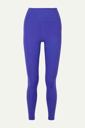 Girlfriend Collective - Compressive Stretch Leggings - Blue