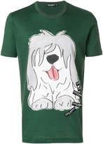 Dolce & Gabbana dog printed T-shirt