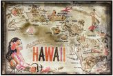 Bed Bath & Beyond Hawaii Greetings Postcard on Box Wall Art