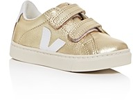 Veja Unisex Esplar Leather Low-Top Sneaker - Walker, Toddler