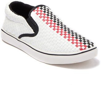 Bernie Mev. Checkerboard Slip-On Sneaker