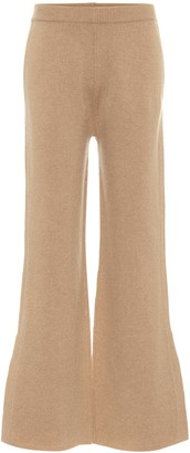 Joseph High-rise wool-blend flared pants