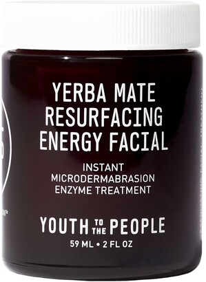YOUTH TO THE PEOPLE Yerba Mate Resurfacing Energy Facial Microdermabrasion Mask