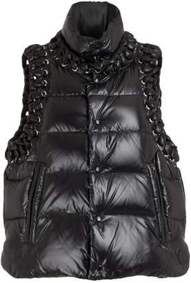 Noir Kei Ninomiya Moncler Genius 6 Moncler Agate down jacket
