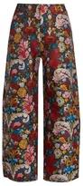 Marques Almeida MARQUES'ALMEIDA Wide-leg brocade trousers