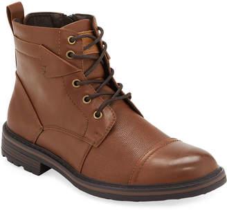 Robert Wayne Men's Jefferson Rugged Leather Boots