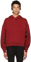 Haider Ackermann Red Perth Hoodie