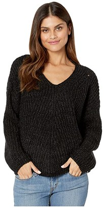 Rip Curl Woven V-Neck Sweater