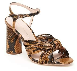 Rebecca Taylor Loeffler Randall Cece High Heel Knot Ankle Strap Sandal