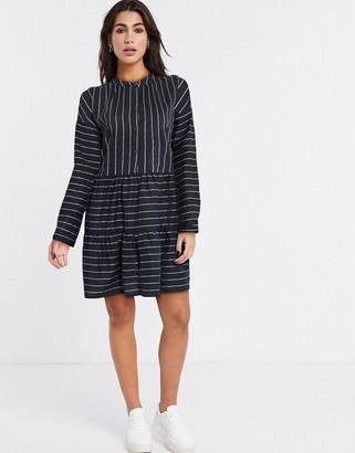 Vero Moda shirt smock dress in stripe
