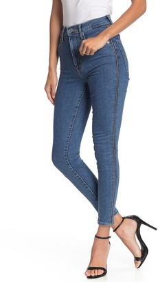 Levi's Mile High Zip Cuff Ankle Jeans