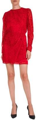 The Kooples Rock N Roll Velvet Mini Dress