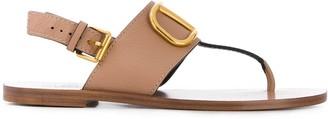Valentino VLOGO flat sandals