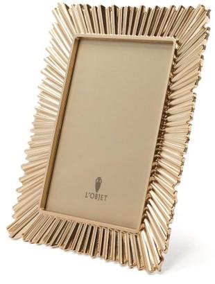 L'OBJET Lobjet - Ray 24kt Gold-plated Frame - Gold