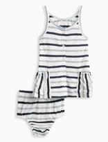 Splendid Baby Girl Mesh Stripe Dress