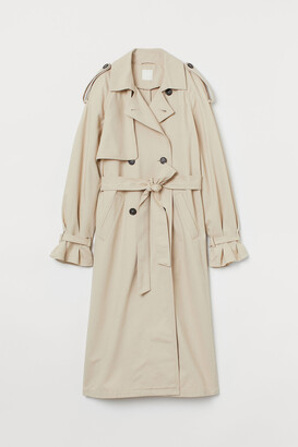 H&M Double-breasted Trenchcoat