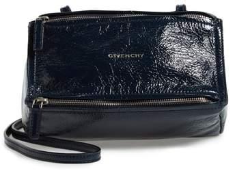 Givenchy Mini Pandora Creased Patent Leather Satchel