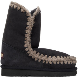 Mou Grey 24 Mid-Calf Boots