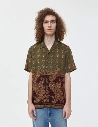 Stussy Block Paisley Button Up Shirt