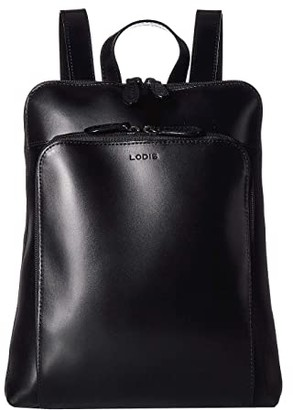 Lodis Audrey RFID Ryder Tote Backpack (Black/Black) Backpack Bags