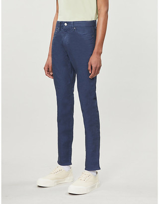 Ted Baker Tapered stretch-denim jeans