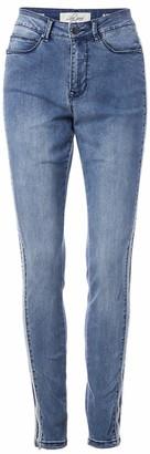 Lola Jeans Women's Plus Size High Rise Skinny