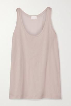 HANDVAERK Organic Pima Cotton-jersey Tank - Pink