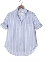 Frank And Eileen Womens Eileen Limited Edition Striped Chambray Shirt
