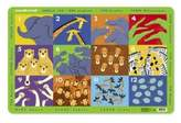 Crocodile Creek Placemat - Jungle 123 [Toy]