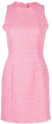 Balmain Fitted Tweed Dress