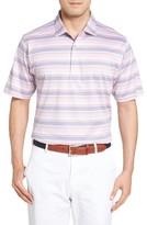 Peter Millar Men's Johnson Stripe Polo