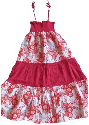 AILANTO Red Cotton Dresses