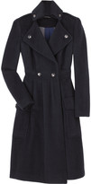 Long wool blend coat