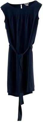 Barneys New York Navy Silk Dress for Women