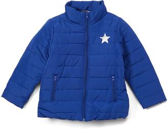 Sweet & Soft Boys' Puffer Coats Blue - Blue Teddy Bear Puffer Jacket - Toddler