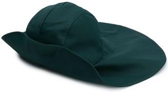 Jil Sander Wide-Brim Cotton Hat