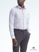 Banana Republic Monogram Grant Slim-Fit Check Shirt