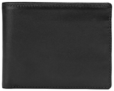 Launer Made In England Leather Billfold Wallet, Black