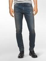 Calvin Klein Skinny Leg Worn Blue Jeans