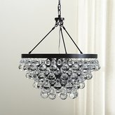 Crate & Barrel Lure Patina Bronze Chandelier