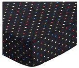 SheetWorld Extra Deep Fitted Portable / Mini Crib Sheet - Primary Colorful Pindots Woven - Made In USA