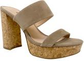 Charles by Charles David Charles David Leather Slip-On Block Heel Pumps- Jink