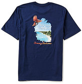Tommy Bahama Been There Drone That Jersey Tee
