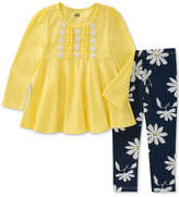 Kids Headquarters 2-Pc. Tunic & Floral-Print Leggings, Little Girls